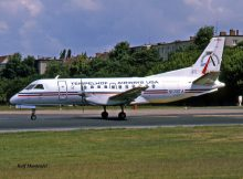 Tempelhof Airways USA, Saab 340A N109TA (THF 28.5. 1990)