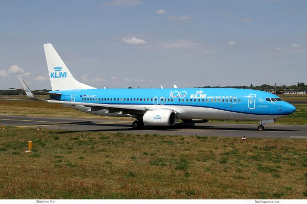 KLM Royal Dutch Airlines, Boeing 737-800(WL) PH-BXC (TXL 13.7.2019)