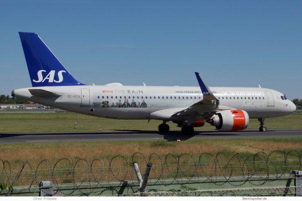 SAS Scandinavian Airlines, Airbus A320neo SE-ROA, Netflix – The Rain Sticker (TXL 9.6.2019)