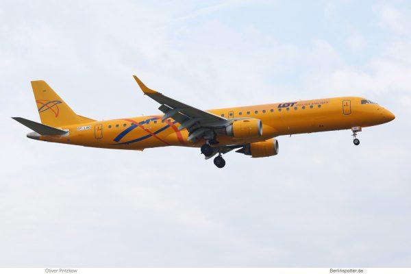 LOT Polish Airlines, Embraer 195 SP-LNO (TXL 31.7.2019)
