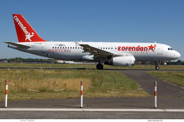 Corendon Airlines, Airbus A320-200 ZS-GAW (TXL 30.6.2019)