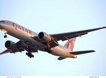Qatar Airways, Boeing 777-200(LR) A7-BBC (TXL 23.8.2019)
