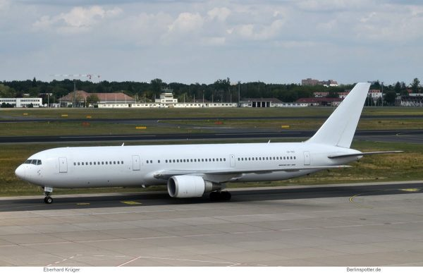 EuroAtlantic Airways, Boeing 767-300(ER) CS-TKS (TXL 2.8.2019)