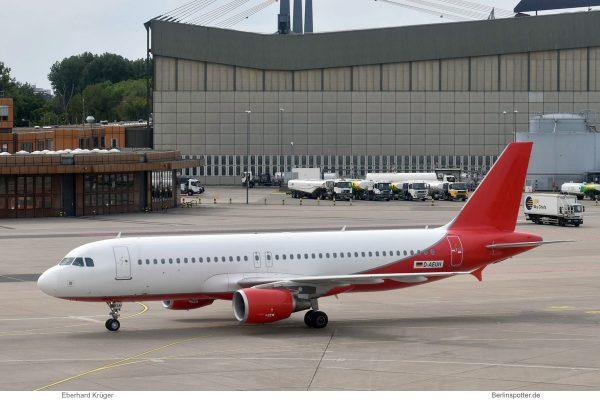 Eurowings, Airbus A320-200 D-AEUH (TXL 20.8.2019)