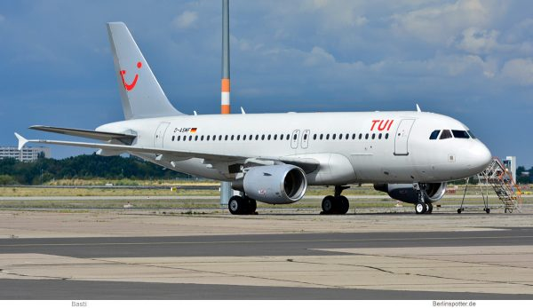 TUIfly, Airbus A319-100 D-ASMF (SXF 08/2019)