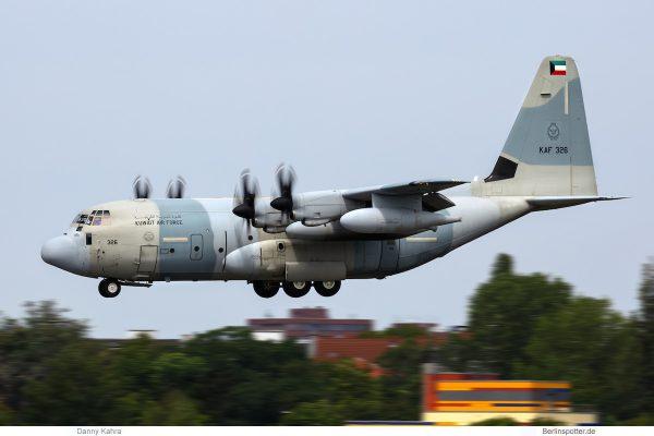 Kuwait Air Force, Lockheed KC-130J Hercules KAF 326 (TXL 5.8.2019)