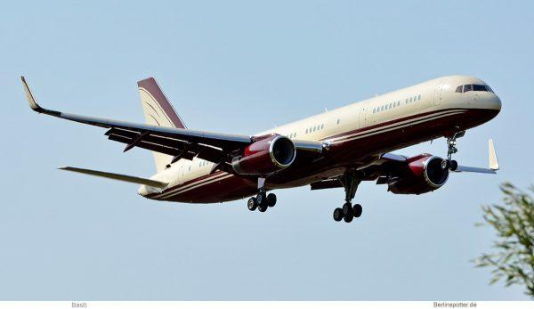 The Yucaipa Companies, Boeing 757-200(WL) N770BB (SXF 25.8.2019)