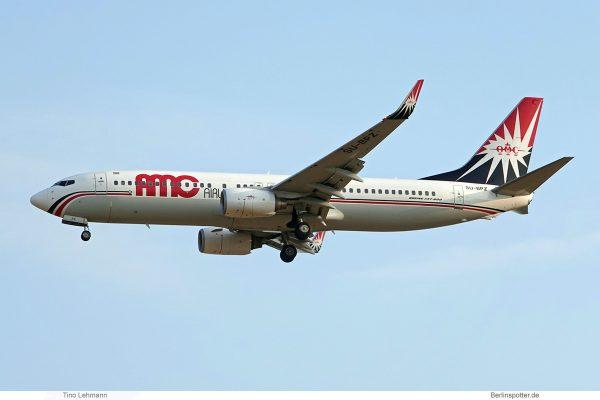 AMC Airlines, Boeing 737-800(WL) SU-BPZ (SXF 9.8.2019)