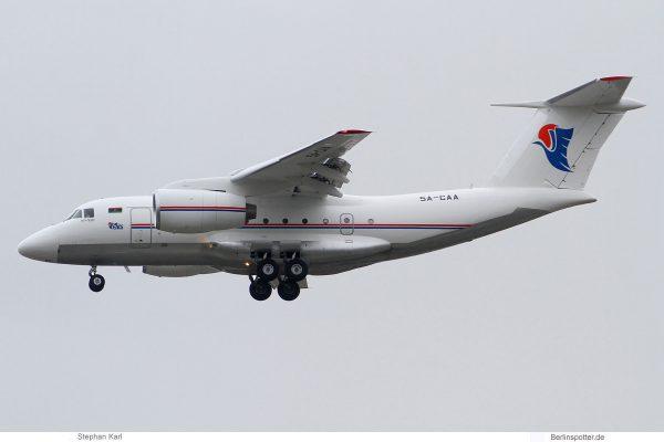 Libyen Luftfahrtdirektorat, Antonov An-74TK-300D (TXL 25.9.2019)