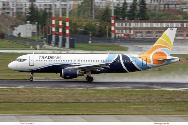 Trade Air, Airbus A320-200 9A.BTG (SXF 1.10.2019)