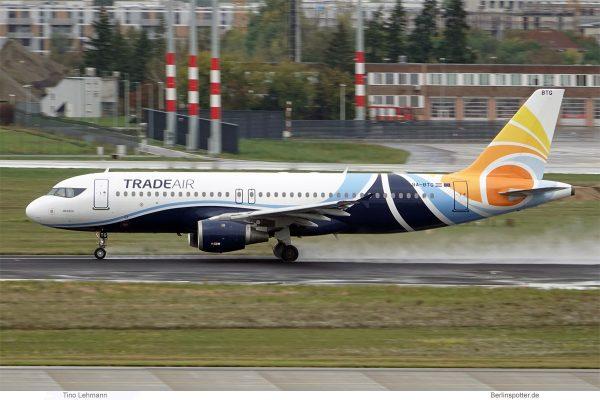 Trade Air, Airbus A320-200 9A.BTG (SXF 1.10.2019)