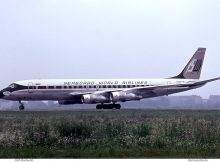 Seaboard World Airlines, Douglas DC-8-55CF N804SW (THF 10.7.1963)