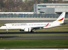 German Airways, Embraer 195LR D-AJHW (SXF 30.11.2019)