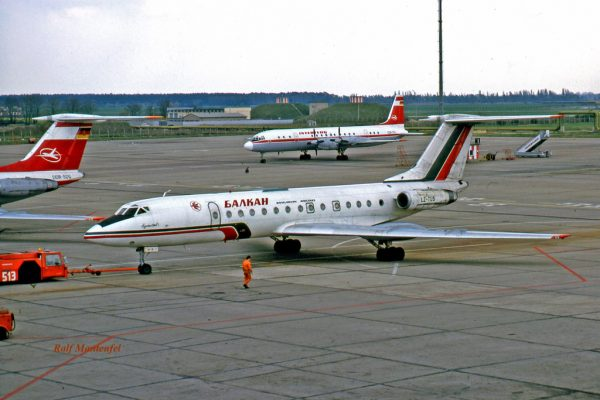 Balkan Bulgarian Airlines, Tupolev 134A LZ-TUS (SXF 16.4.1990)