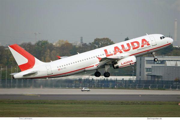 LaudaMotion, Airbus A320-200 OE-IHL (SXF 7.11.2019)
