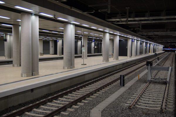BER-Bahnhof Terminal 1-2 (Foto: O. Pritzkow)