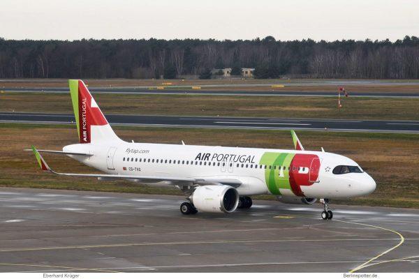 TAP Air Portugal, Airbus A320neo CS-TVG (TXL 17.12.2019)