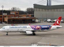 Turkish Airlines, Airbus A321-200 TC-JTR, Tekfestival cs. (TXL 31.12.2019)