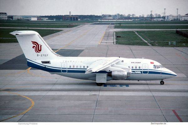 Air China, BAe 146-100 B-2707 (SXF 1995)