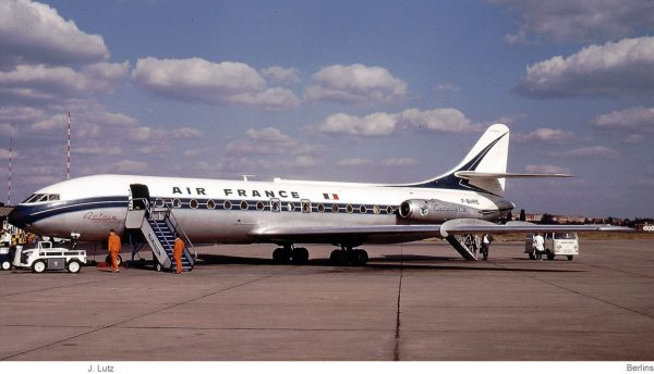Air France, Caravelle F-BHRE (TXL 1973)
