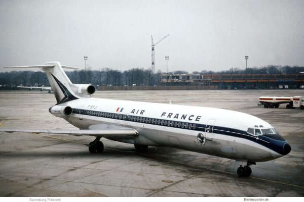Air France, Boeing 727-200 F-BPJI (TXL 20.12.1976)
