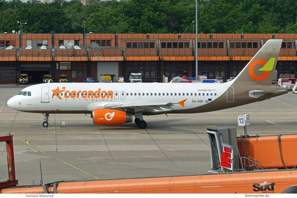 Corendon Airlines, Airbus A320-200 SX-SOF (TXL 26.5.2019)