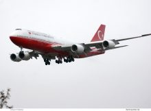 Turkish Gvmt, Boeing 747-8i TC-TRK (TXL 19.1.2020)