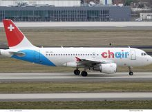 Chair Airlines, Airbus A319-100 HB-JOJ (SXF 18.2.2020)