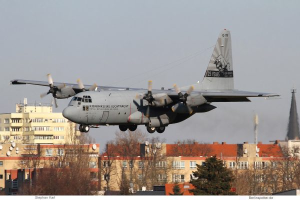 Royal Netherlands Air Force, Lockheed C-130H G-781 (TXL 8.2.2020)