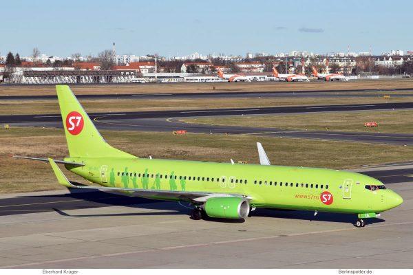 S7 Airlines, Boeing 737-800 (WL) VP-BUL (TXL 5.2.2020)
