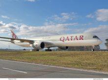 Qatar Airways, Airbus A350-1000 A7-ANH (TXL 2.4.2020)