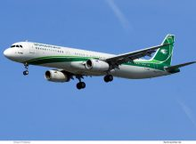 Iraqi Airways, Airbus A321-200 YI-AGR (TXL 15.4.2020)