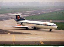 BEA British European Airways, HS.121 Trident 3 G-AWZG (THF)