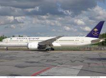 Saudia - Saudi Arabian Airlines, Boeing 787-9 HZ-AR23 (TXL 30.4.2020)