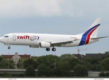 Swift Air, Boeing 737-400(SF) EC-MCI (TXL 6.6.2020)