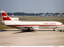 TWA Trans World Airlines, Lockheed L-1011 TriStar N81025 (TXL 1992)