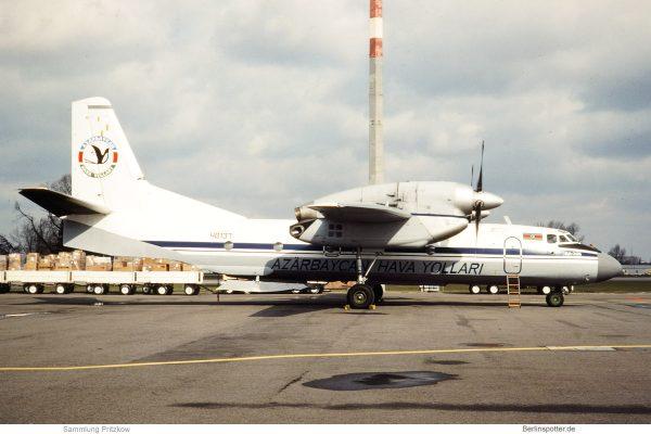 AZAL - Azerbaijan Airlines, Antonov An-32 (4K-) 48137 (SXF 19.3.1993)