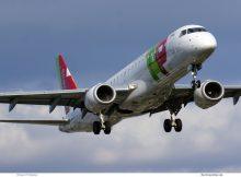 TAP Express, Embraer 190LR CS-TPQ (TXL 29.7.2020)
