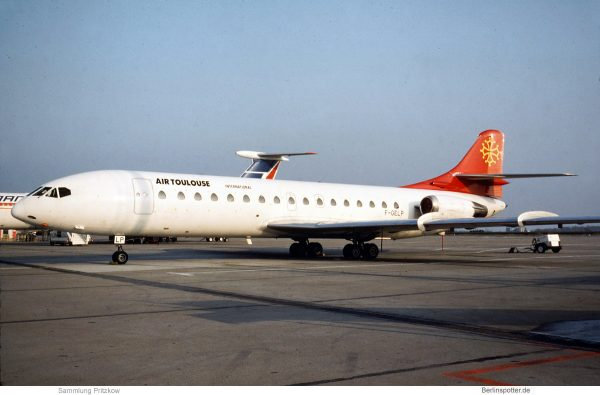 Air Toulouse International, SE-210 Caravelle 10B F-GELP (SXF 2.3.1993)
