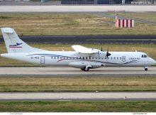 Lübeck Air, ATR72-500 SE-MDB (SXF 22.7.2020)