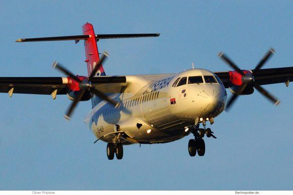 Air Serbia, ATR72-200 YU-ALP (TXL 31.7.2020)
