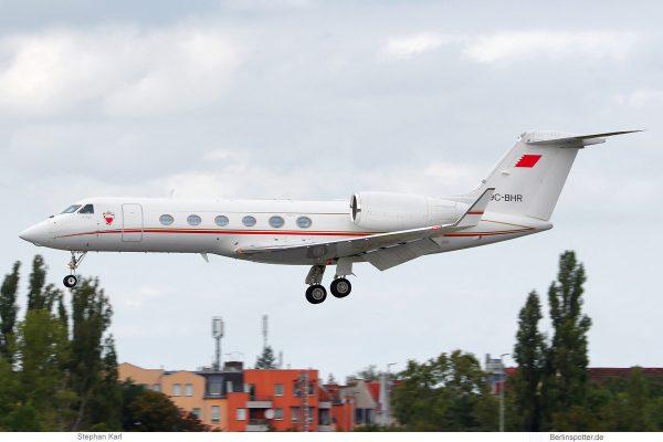 Bahrain Royal Flight, Gulfstream A9C-BHR (TXL 10.9.2020)
