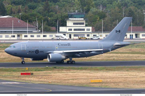 Royal Canada Air Force, Airbus CC-150 Polaris 15004 (TXL 23.8.2020)