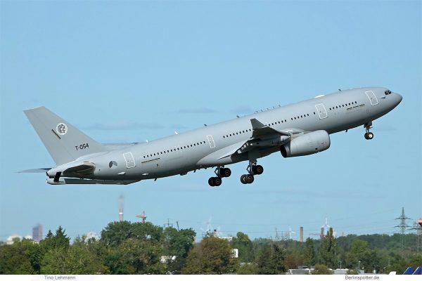 Multinational MRTT Unit (MMU), Airbus A330-200 MRTT T-054 (SXF 17.9.2020)