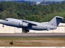 Royal Air Force, BAe 146-200QC ZE708 (TXL 6.9.2020)
