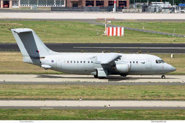 Royal Air Force, BAe 146-200QC ZE708 (SXF 6.9.2020)