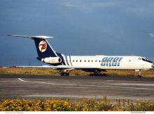 ORBI Georgian Airways, Tupolev Tu-134A 4L-65774 (SXF 1996)