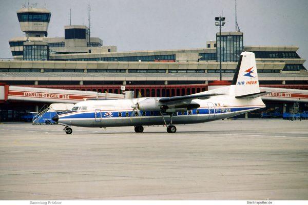 Air Inter, Fokker F.27-500 F-BPNE (TXL 1978)