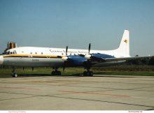 German European Airlines Ilyushin Il-18 D-AOAO (SXF 1994)