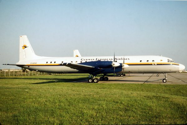 German European Airlines Ilyushin Il-18 D-AOAO (SXF 1994)
